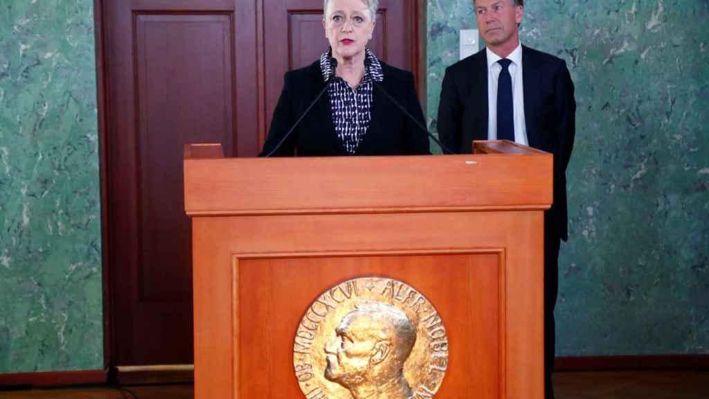 Berit Reiss-Andersen, directora del Comité Nobel Noruego