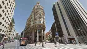 Edificio del Banco de Valencia que ahora albergará la sede de Caixabank.