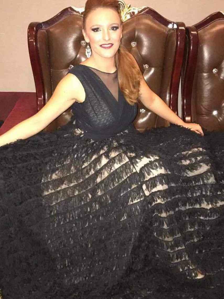 La algecireña Rocío Pozo, conocida en Myanmar como la Beyoncé española, quedó tercera