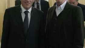 Javier Tebas y Jaume Roures.