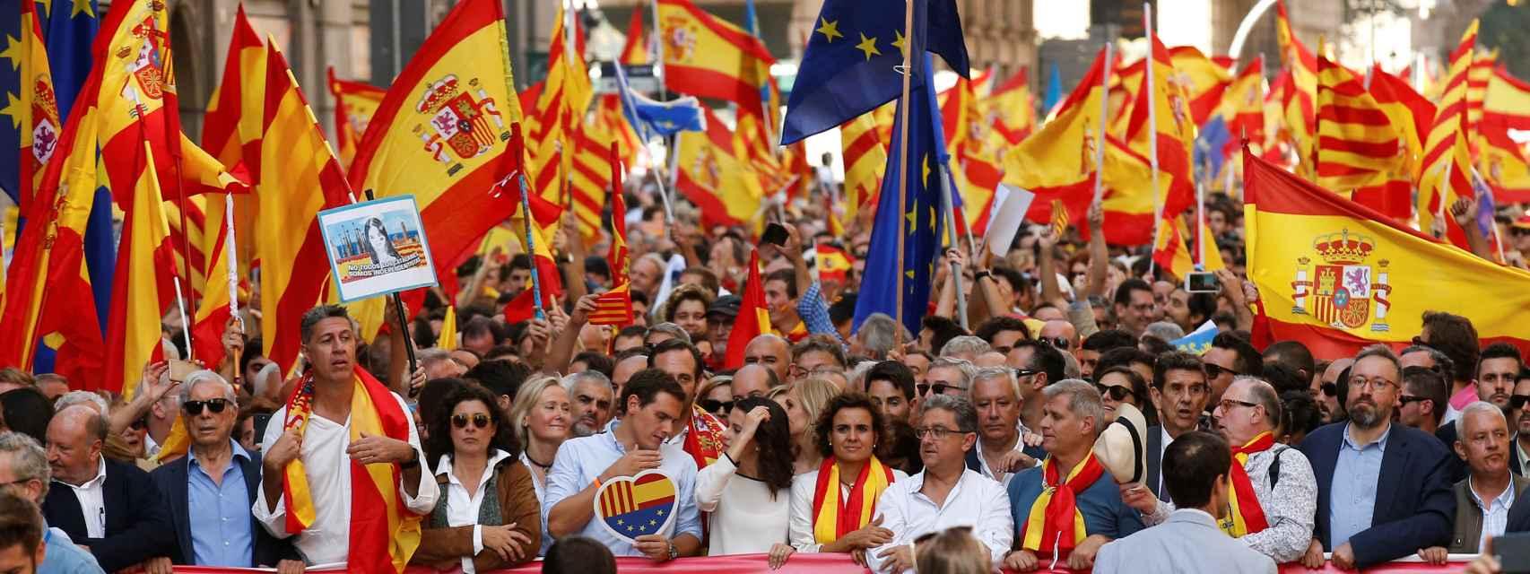 Manifestación de Barcelona.