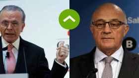 Isidre Fainé y Josep Oliu