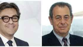 Luca di Meo, presidente de SEAT y Víctor Grifols.