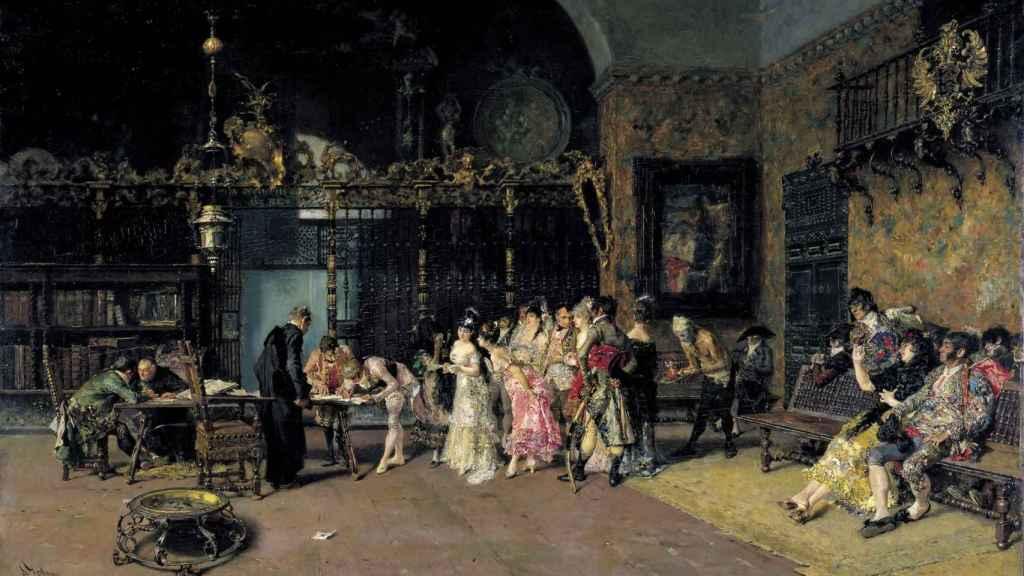 La Vicaría, el cuadro más famoso de Fortuny.