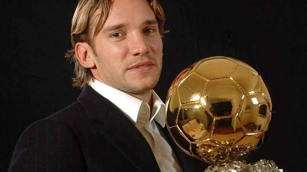 Andriy Shevchenko, Balón de Oro 2004