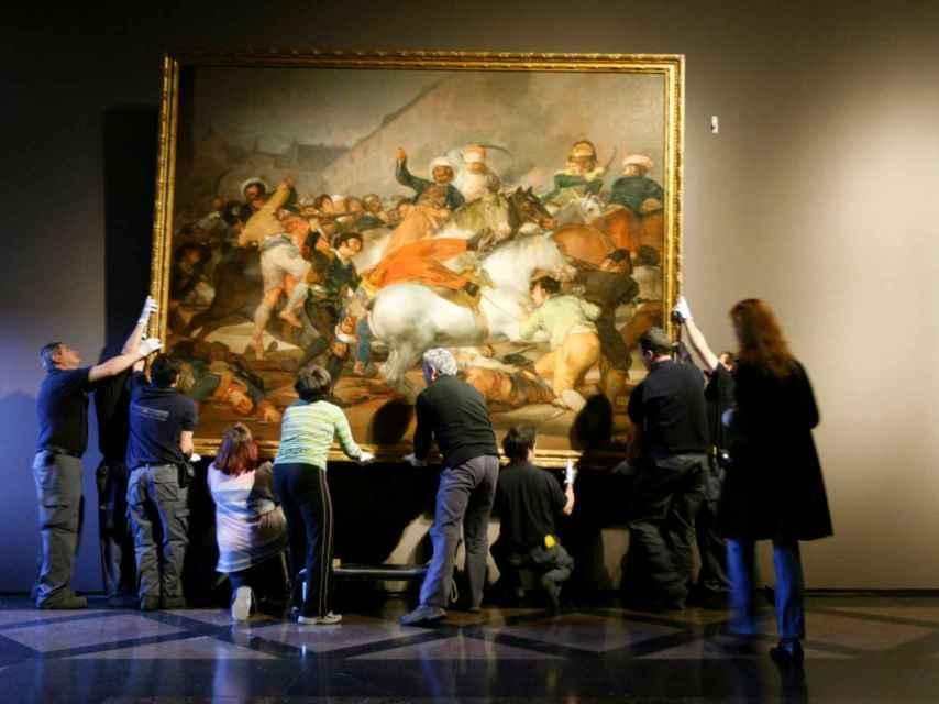 La carga de los Mamelucos, en el Museo Nacional del Prado.