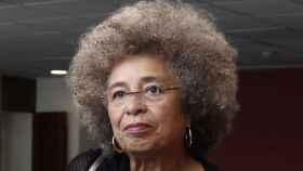 Angela Davis, histórica filósofa y activista afroamericana.