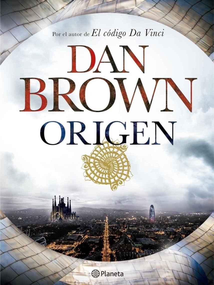Portada del libro Origen, de Dan Brown.