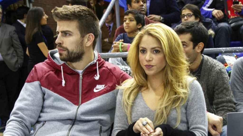 Shakira y Piqué comparten tiempo y espacio juntos.