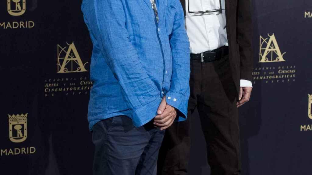 Javier Mariscal y Fernando Trueba.