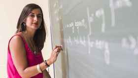 La matemática Marina Murillo.