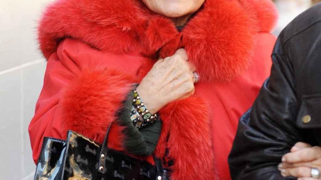 Carmen Sevilla vive en un centro especializado en Alzheimer.