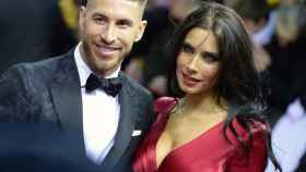 Sergio Ramos y Pilar Rubio, en una imagen de archivo.