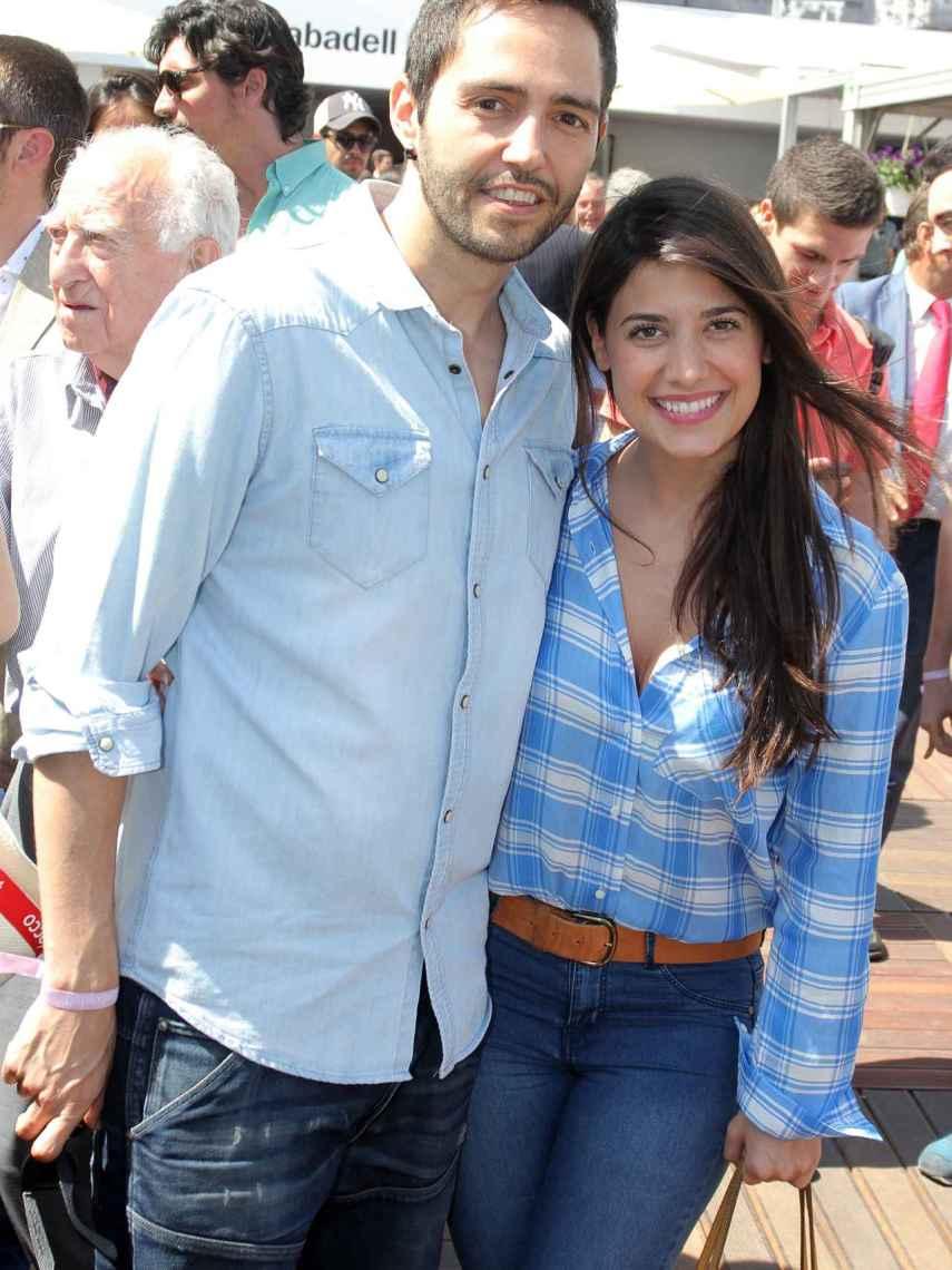 David Guapo y Ares, cuando estaban juntos.