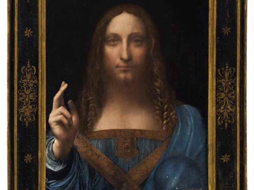 La pintura Salvator Mundi.
