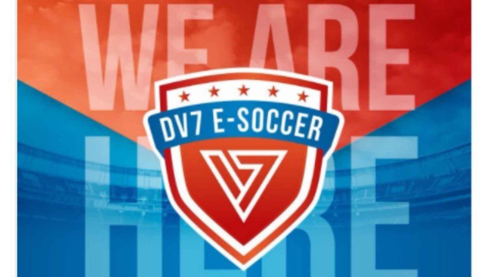 Villa se une a Esports. Foto. Twitter (@dv7esoccer)