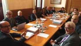 Reunión de la Sala de Gobierno del TSJ de Cataluña