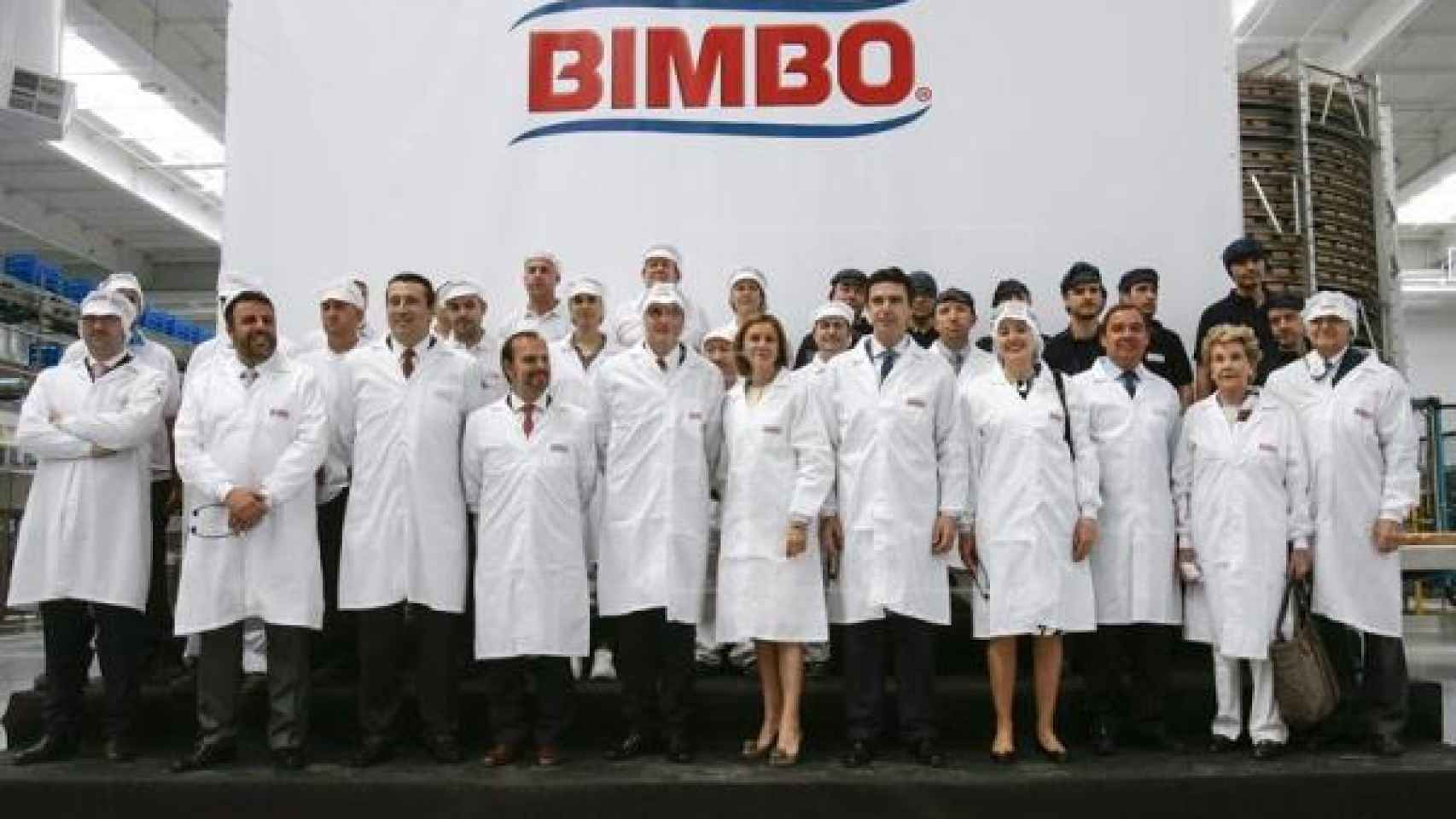Trabajadores de Bimbo, en una imagen de archivo.