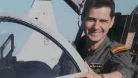 El capitán Borja Aybar falleció en el accidente del Eurofighter de este jueves en Albacete.