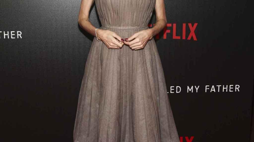 Angelina Jolie durante un evento en septiembre.