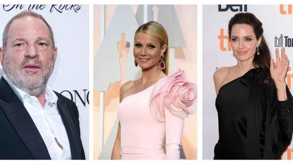 Harvey Weinstein y las actrices que han alzado la voz.