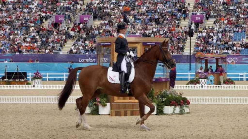 Prueba hípica en los Juegos de Río 2016.