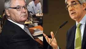 Francisco Roca y Jordi Bertomeu, presidentes de ACB y Euroliga respectivamente.