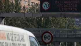 En Madrid estos días no se puede circular a más de 70 kilómetros por hora.