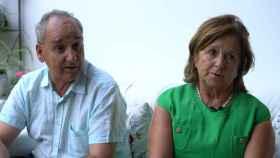 Los padres de Ignacio Echeverría, Joaquín y Ana, en la entrevista con EL ESPAÑOL