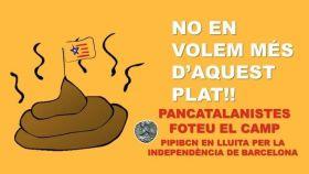 La resistencia pelea contra el pancatalanismo que les oprime.
