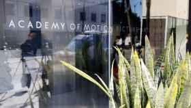 Entradada de la Academia de Hollywood en Beverly Hills.