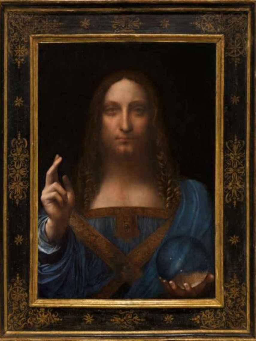 El Salvator Mundi de Leonardo da Vinci.