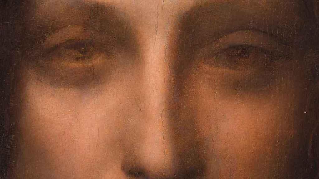 Ojos de la obra de Leonardo.