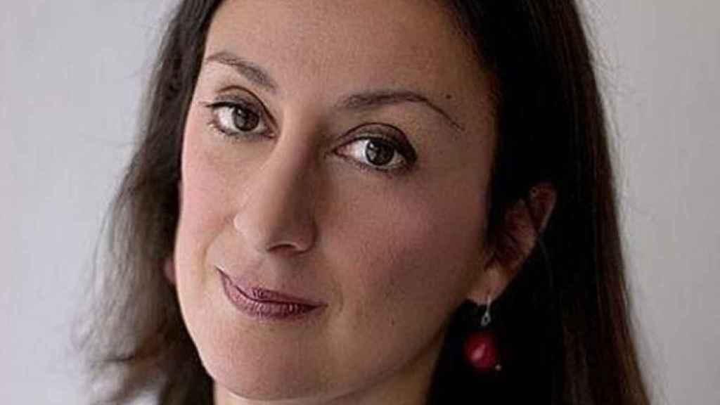 La periodista Daphne Caruana Galizia.