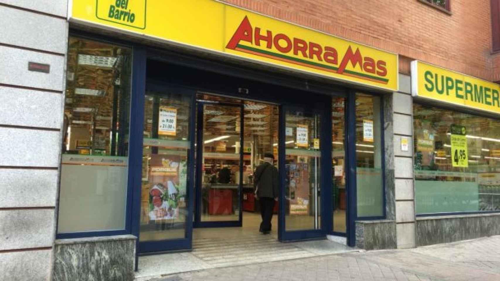 Un supermercado Ahorramás, en una imagen de archivo.