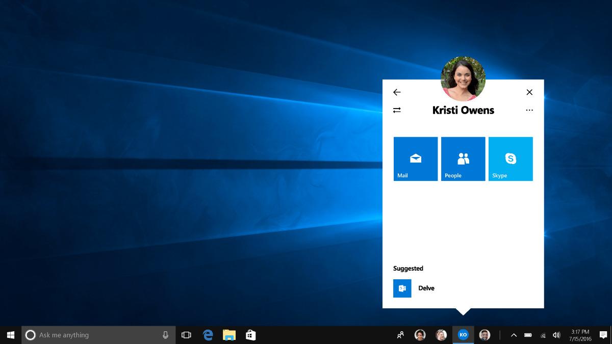 my people windows microsoft fall creators update