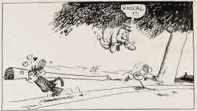 Tira cómica de Krazy Kat, de George Herriman.