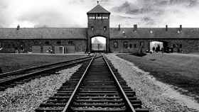 Imagen del campo de concentración de Auschwitz-Bikernau.