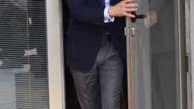 Ignacio González, a la llegada de uno de sus juicios.