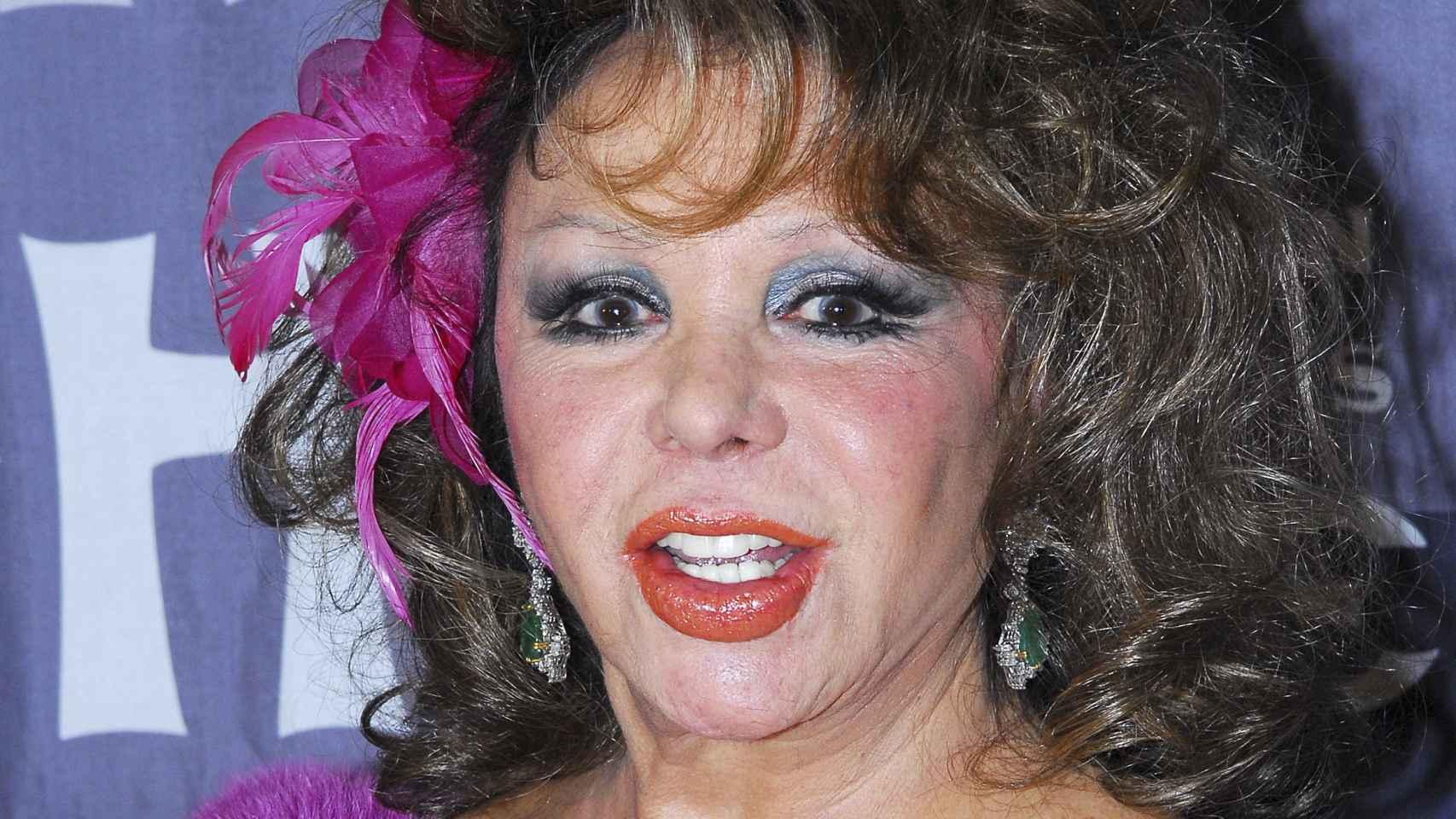 La artista Marujita Díaz.