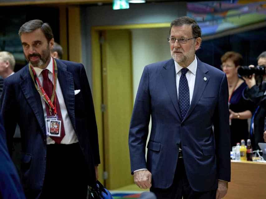 El presidente Rajoy, durante la última cumbre de la UE en Bruselas