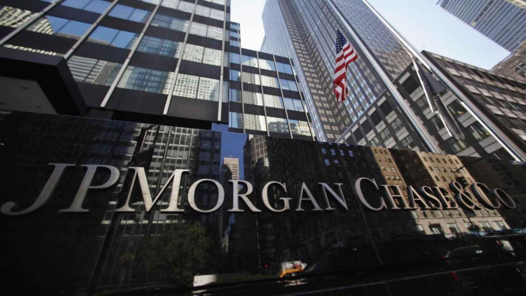 Sede de JPMorgan, en una imagen de archivo.