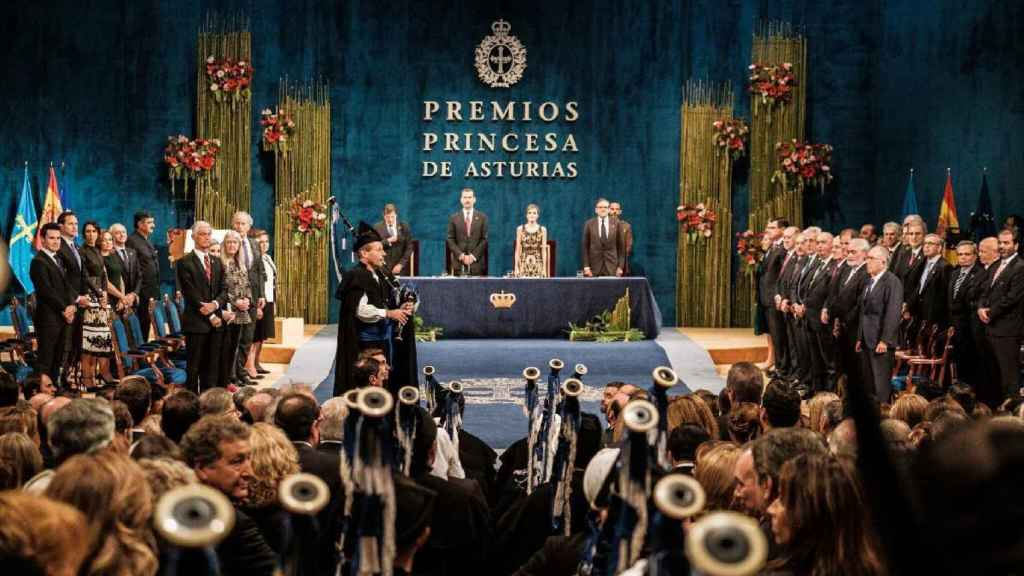 Ceremonia de entrega de los Premios Princesa de Asturias 2016.