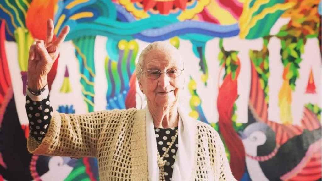 La abuela de Miguel Ángel Muñoz se hizo muy popular con sus apariciones en 'MasterChef Celebrity'.
