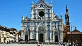 Basílica de la Santa Cruz, en Florencia.