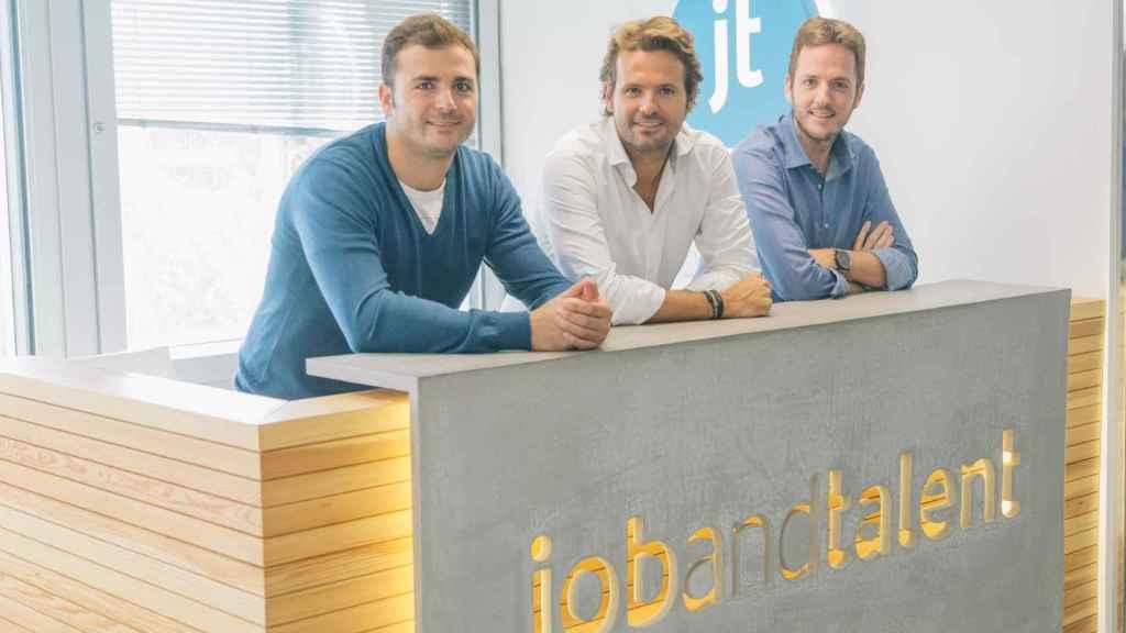 El equipo directivo de Jobandtalent.