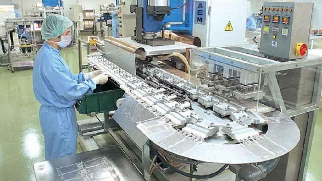 La principal factoría de Grífols sigue en Cataluña, en la localidad de Parets del Vallès