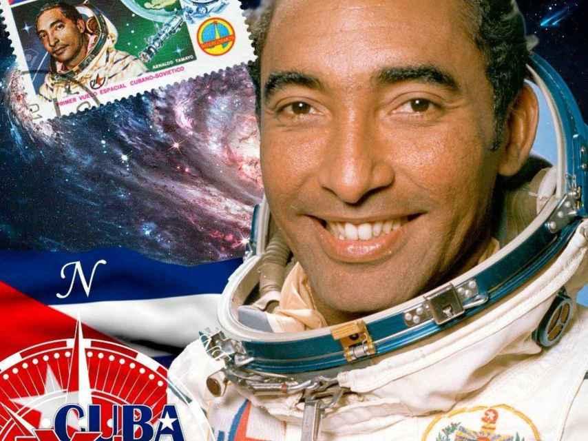El cosmonauta Arnaldo Tamayo.