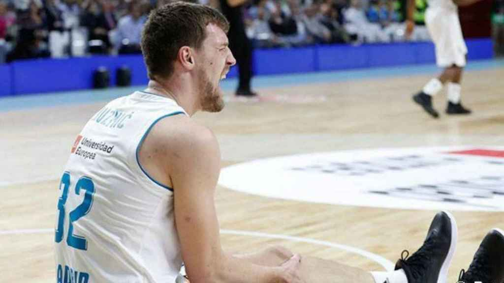 Kuzmic se lesiona ante el CSKA