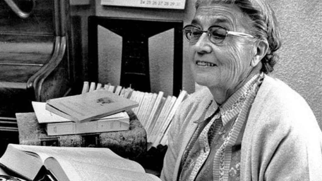 María Moliner, la mujer que enseño a leer a media España (a pesar de Franco).